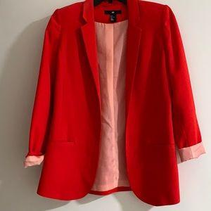 H&M Red Blazer VEUC $68